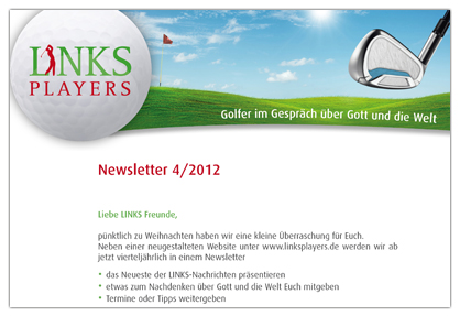 LINKSPLAYERS-Newsletter